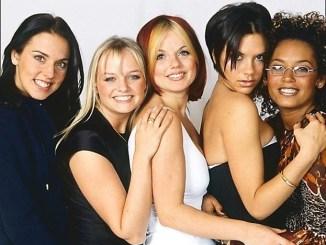 Les Spice Girls en couverture du Sunday Times