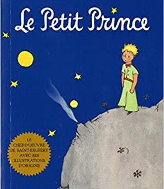 Première de couverture du livre Le Petit Prince d'Antoine de Saint-Exupéry.