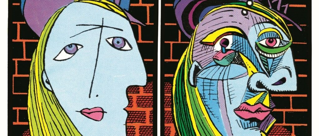 Art Spiegelman. Détail de la quatrième de couverture de Breakdowns. Portrait de l'artiste en jeune ! Casterman 2008, pour l'édition française.