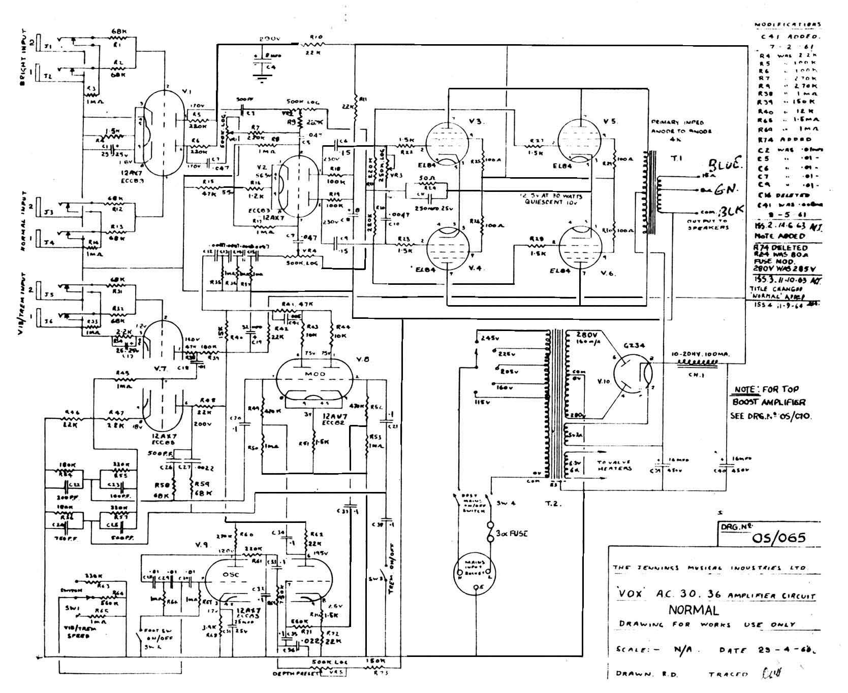 Guitar Cabinet Wiring Diagrams