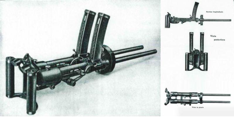 Forgotten Weapon The Delightfully Impractical Villar Perosa Double Machine Gun