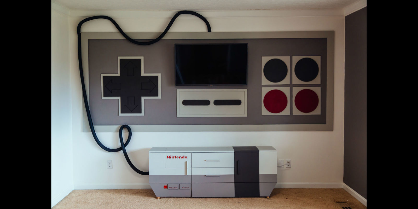 Check out this article and get 10 amazing game room ideas and more. Game Room Ideas: Turn Your Entire Wall Into a Giant Nintendo