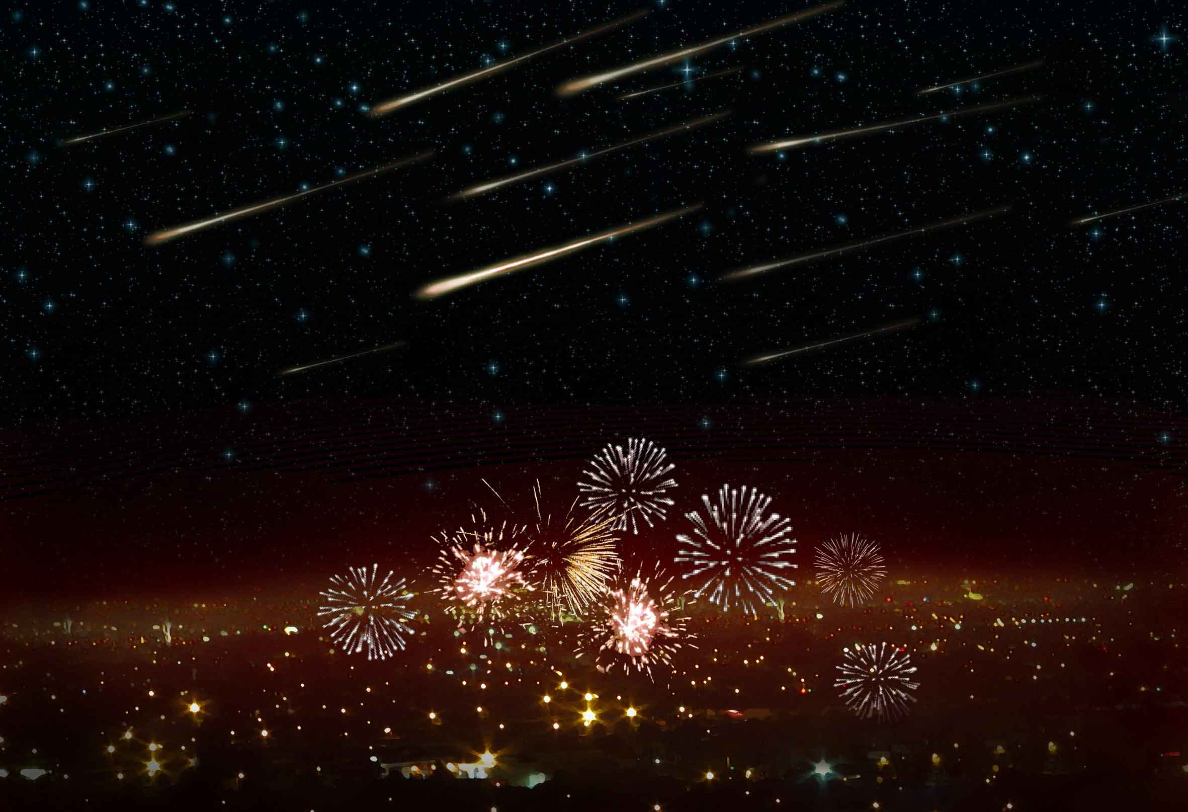 Meteor Falling Wallpaper A Beautiful Meteor Shower Could Be Evidence Of A Dangerous