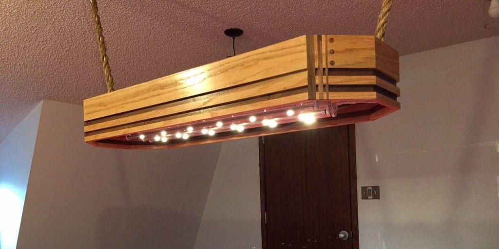 How to Build a Custom Pool Table Light