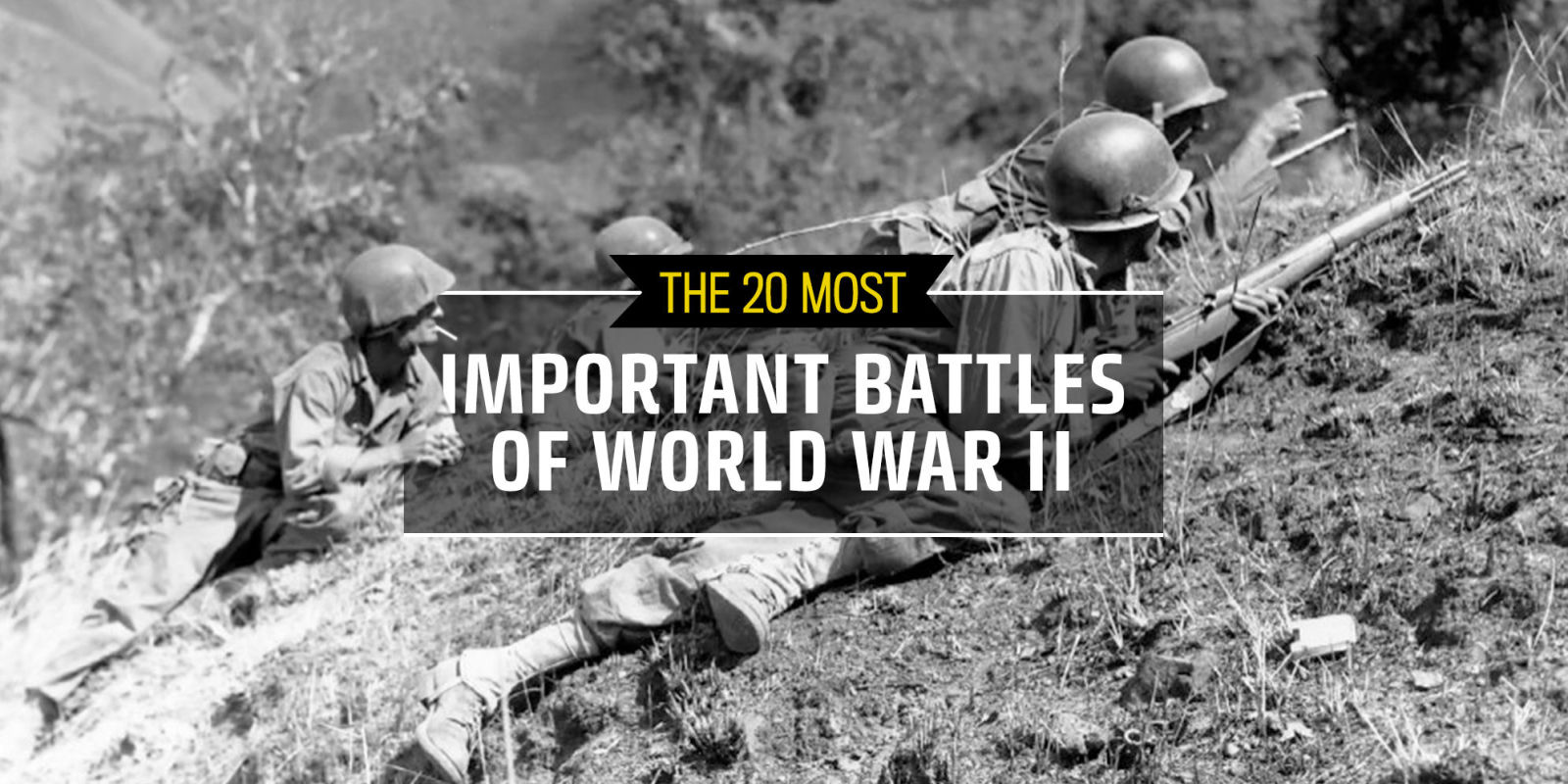 The 20 Most Important Battles Of World War Ii
