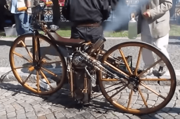 Check Out This 1860s SteamPowered Motorcycle