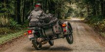 Ural Sidecar Three-wheeled Russian Motorcycle