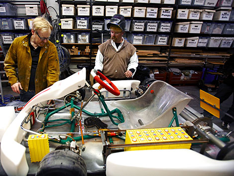 MythBusters Hack GoKart in Extreme Electric vs Gas Test