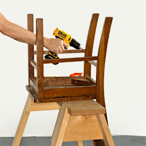 How to Fix Those Pesky Wobbly Chairs
