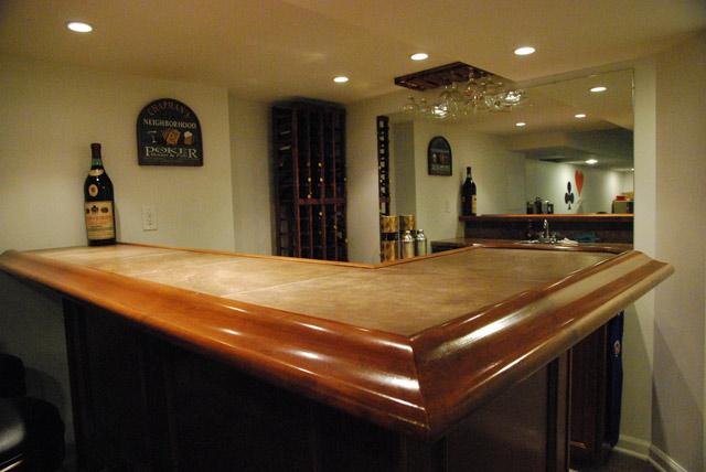 Bar Countertop Dimensions