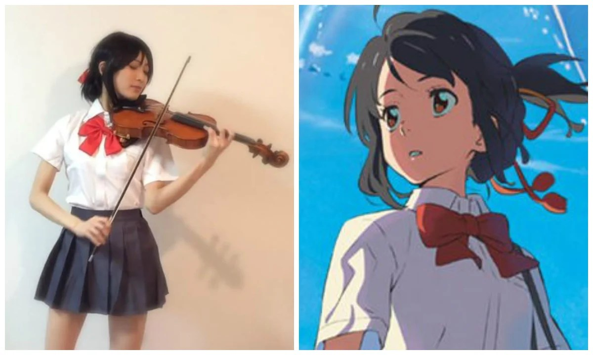 Japanese Cosplayer Performs A Jaw Dropping Violin Cover Of
