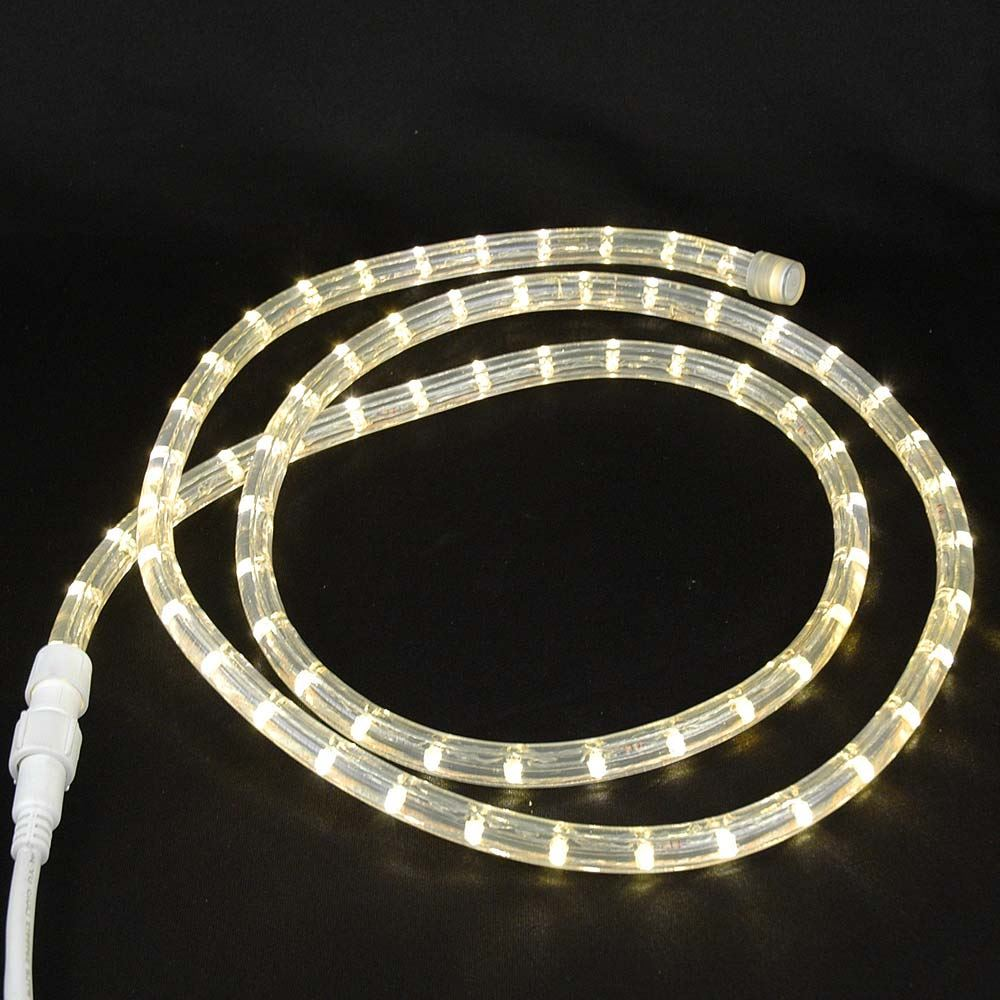medium resolution of warm white custom 12 volt led rope lights 1 2 2 wire wiring 12v led rope light