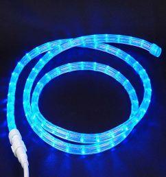 custom cut blue low voltage 12v led rope light kit 1 2 novelty wiring two led lights bulb on 12v system wiring 12v led rope light [ 1000 x 1000 Pixel ]