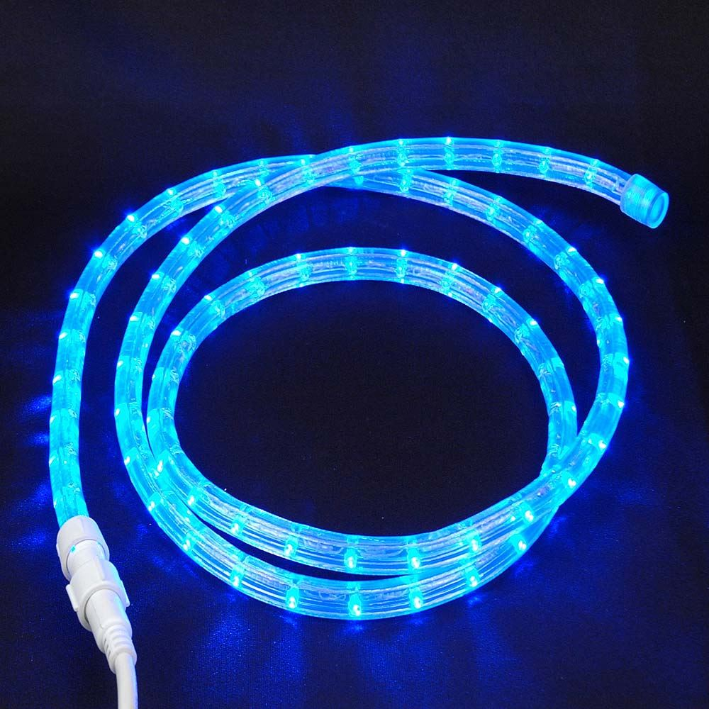 medium resolution of custom cut blue low voltage 12v led rope light kit 1 2 novelty wiring two led lights bulb on 12v system wiring 12v led rope light