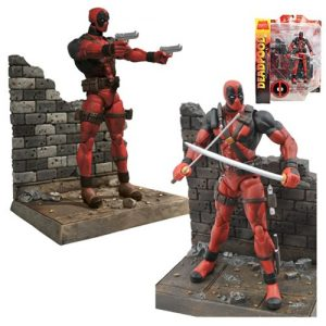 """Marvel Select Deadpool 7"""" action figure - dc heroes toys - pop toys"""