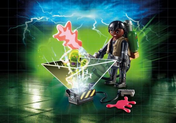 Playmobil Ghostbusters II 9349 Winston Zeddemore with hologram function - ghostbusters 2 product detail playmobil - pop toys