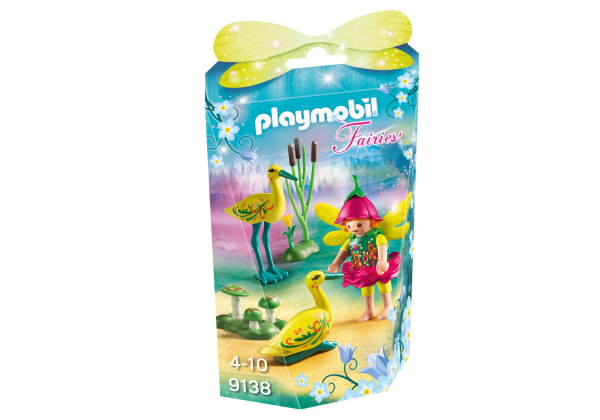 Playmobil Fairies 9138 Fairy Girl with Storks Front