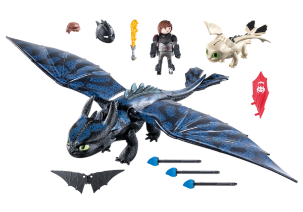 Playmobil Dragons 70037 Toothless and Hiccup with Baby Dragon - image 70037_product_box_back-600x420 on https://pop.toys