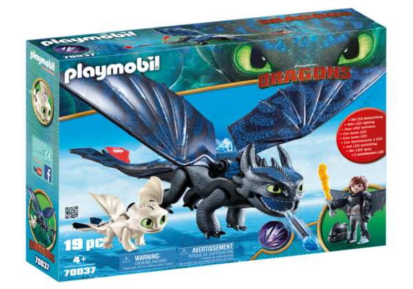 Playmobil Dragons 70037 Toothless and Hiccup with Baby Dragon - image 70037_product_box_front-600x420 on https://pop.toys