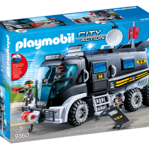 Playmobil Dragons 70040 Hiccup and Astrid with Baby Dragon - image 9360_SWAT-Truck-300x300 on https://pop.toys