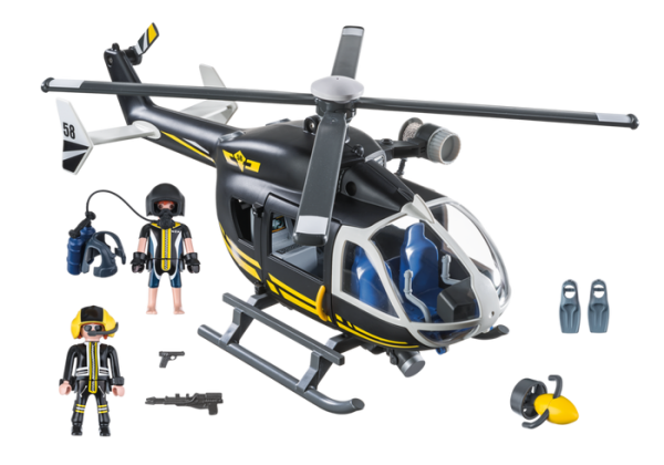 Playmobil City Action 9363 SWAT Tactical Unit Helicopter - image 9363_SWAT-Helicopter1-600x420 on https://pop.toys