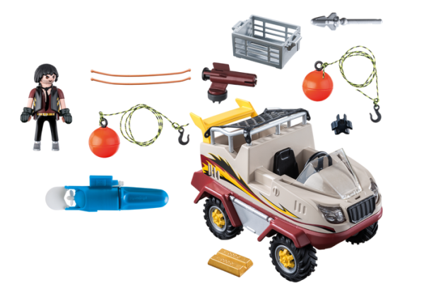 Playmobil City Action 9364 Amphibious Truck - image 9364_Amphibious-Truck1-600x420 on https://pop.toys