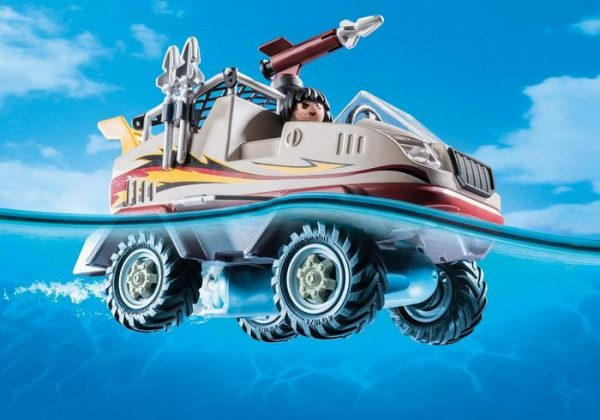 Playmobil City Action 9364 Amphibious Truck - image 9364_Amphibious-Truck2-600x420 on https://pop.toys