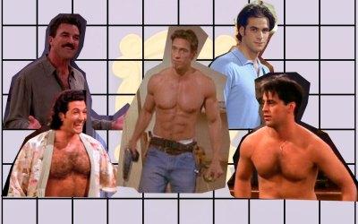 TOP: Los tíos más buenos (y con menos ropa) de FRIENDS