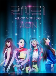 2NE1 All or Nothing AON Sci-fi Concept Photo