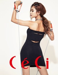 Fei miss A Ceci Magazine August Issue 2013 (2)