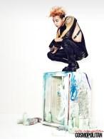 G-Dragon (Big Bang) - Cosmopolitan Magazine (julio 2013) (3)