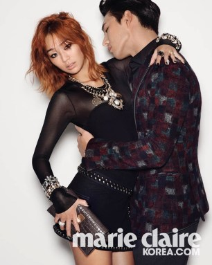 Hyorin SISTAR - Marie Claire Magazine January Issue 2014 (4)