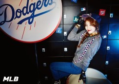 Suzy and Jia miss A MLB CF (2)