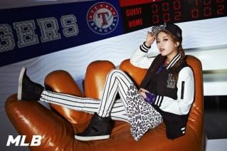 Suzy miss A LA Dodgers MLB CF (2)