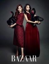 Tiffany SNSD and Bora SISTAR - Harper's Bazaar Magazine January Issue 2014 (6)