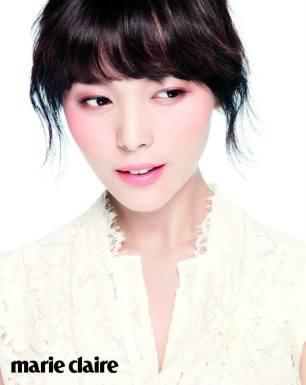 Wonder Girls Sun Ye - Marie Claire Magazine September Issue '13 5