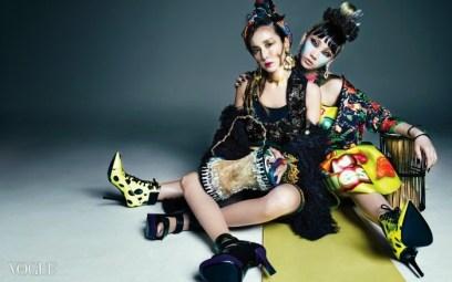 2NE1 - Vogue Magazine May Issue 2014 (2)