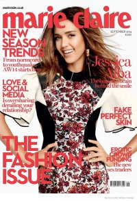 Jessica Alba - Marie Claire UK (Septiembre 2014) (1)