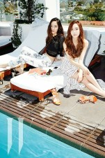 Jessica SNSD and f(x) Krystal - W Magazine June 2014 (7)