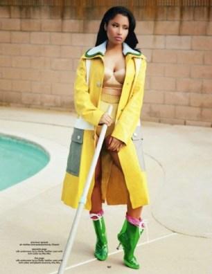 Nicki Minaj - Dazed & Confused Magazine UK(September 2014) (1)