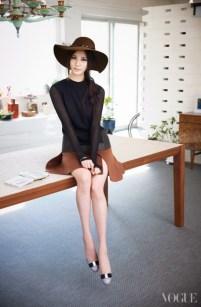Taetiseo - Vogue Magazine April Issue 2014