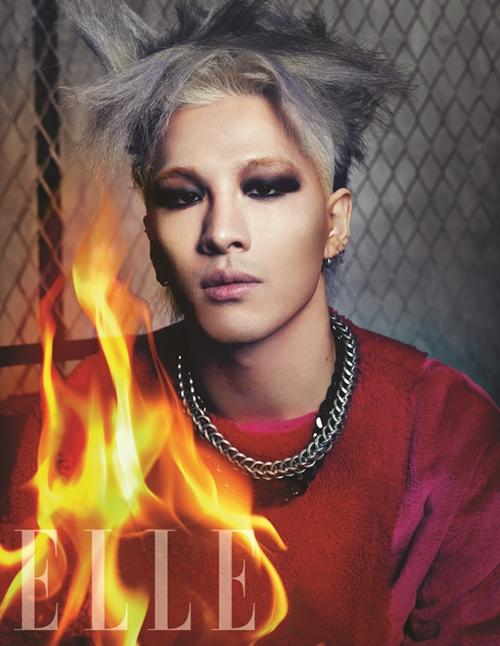 Taeyang - Elle Magazine (noviembre 2013) (3)