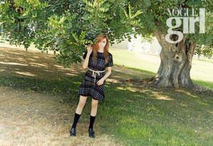 Tiffany (Girls' Generation) - Vogue Girl Magazine (October 2014) (2)