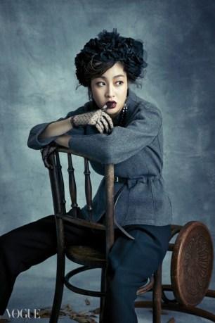 Kang Sora - Vogue Korea (Diciembre 2014) (8)