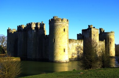 Bodiam Castle, UK. © Karen Edwards