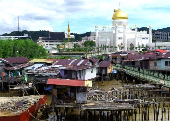 Bandar Seri Begawan, Brunei. © Karen Edwards