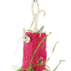 Prevue Pet Products Tropical Teasers Shreddable Shack Bird Toy