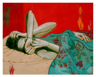 Let me Sleep | 14X11 - acrylic&colored pencils | 160g paper | 2011