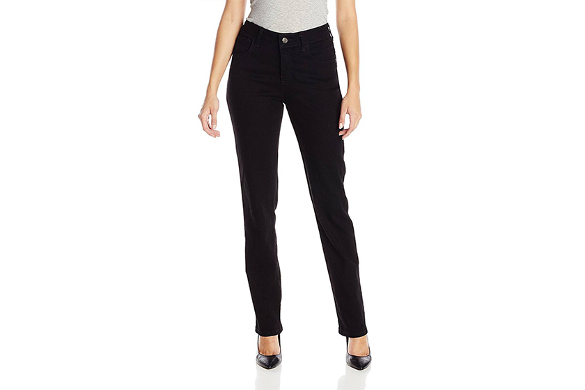 Amazon 最暢銷的牛仔褲 Lee Instantly Slims Classic Relaxed Fit Monroe Straight Leg Jean