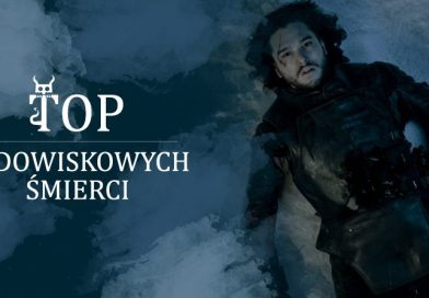 """Top widowiskowych śmierci w """"Grze o tron"""""""